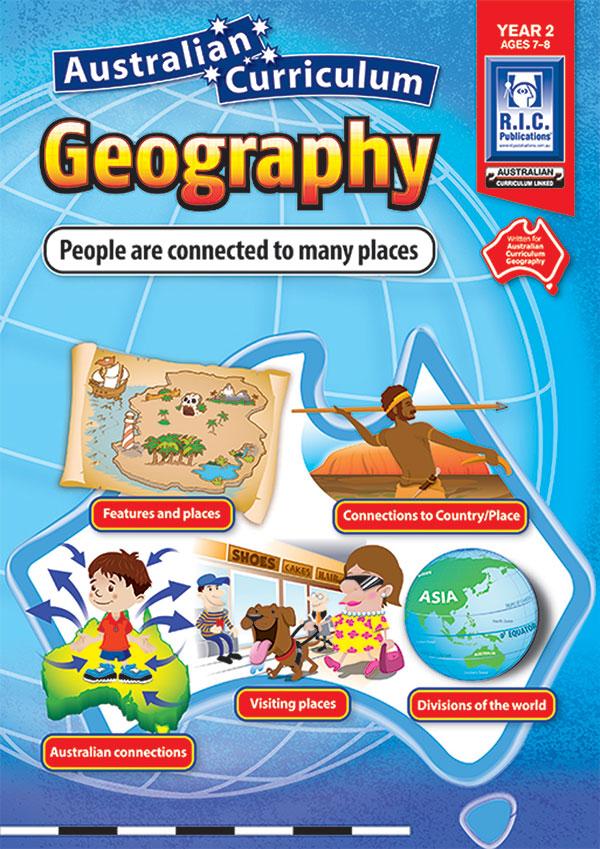 Australian Curriculum Geography Yr 2 Ages7 8